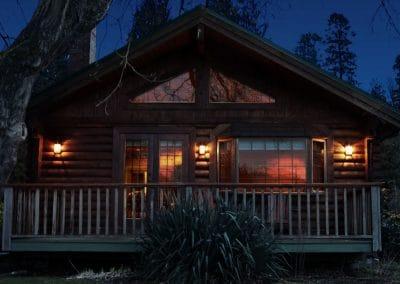 cabin-night